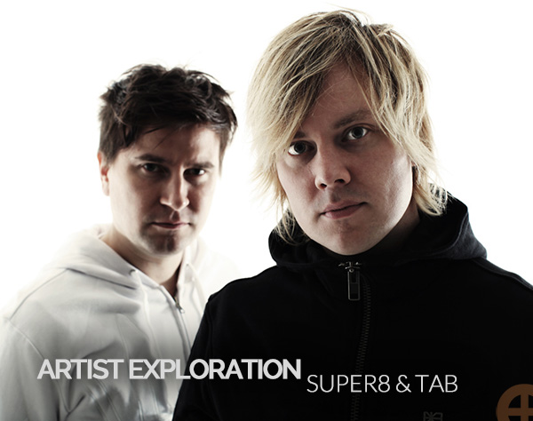 Artist Exploration Super8 Tab