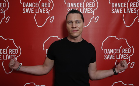 Last year, Tiesto matched donations up to $1,000 for World AIDS Day