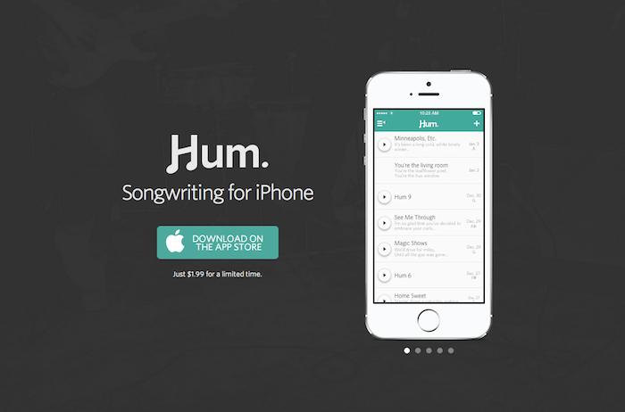 Hum is the songwriting app we never knew we needed.