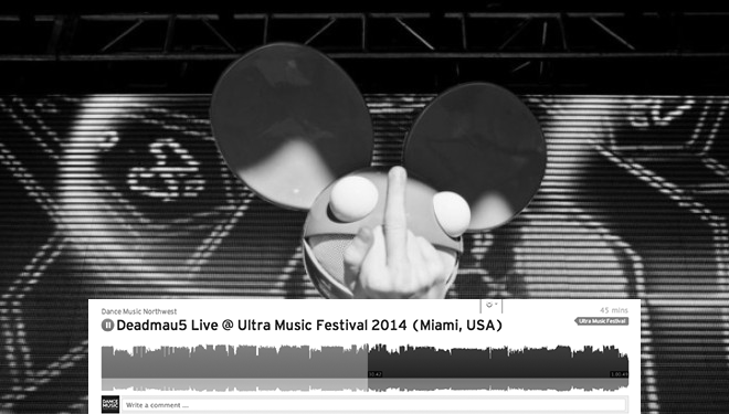 deadmau5 ultra music festival 2014 troll farm animals