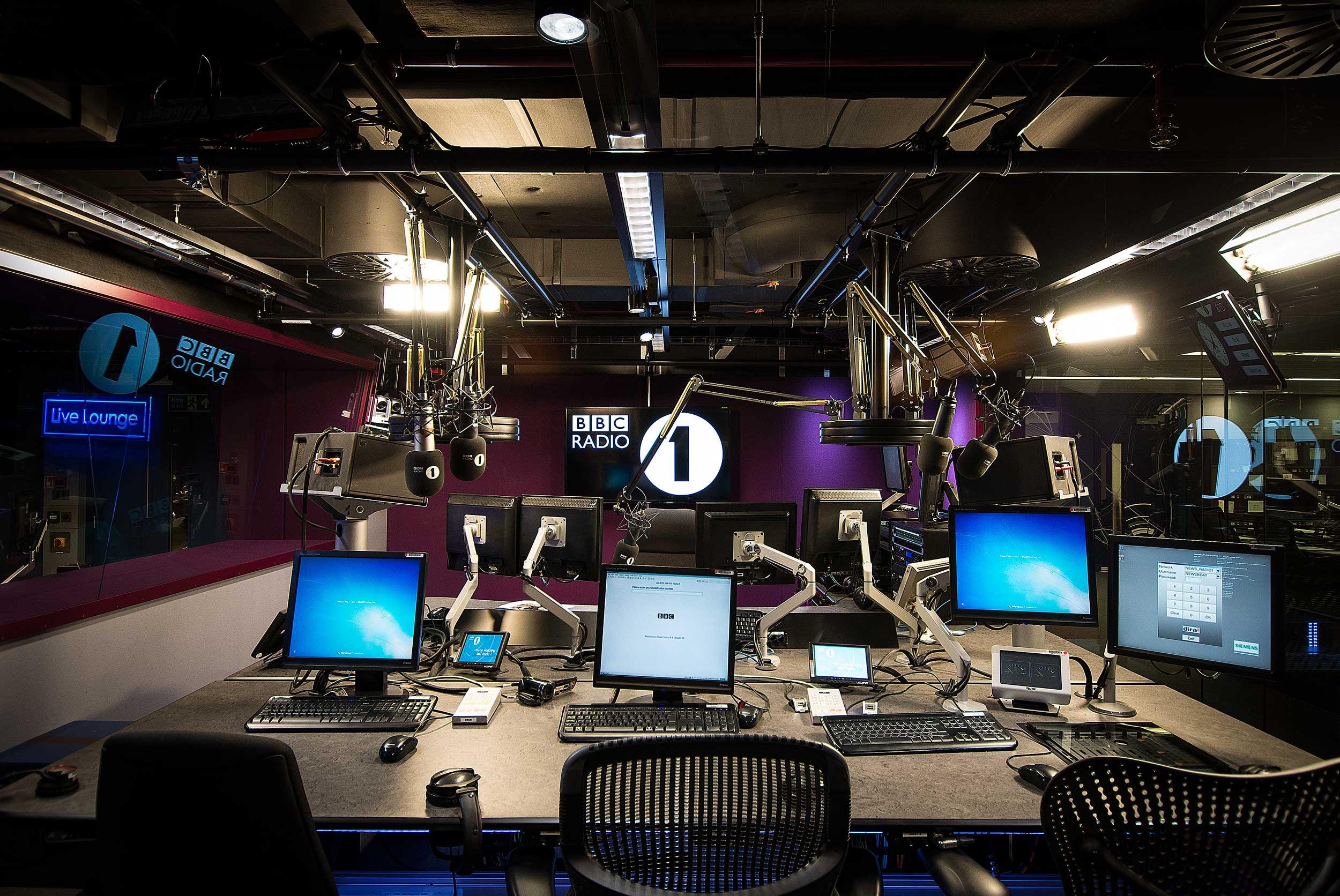 bbc radio 1 studio