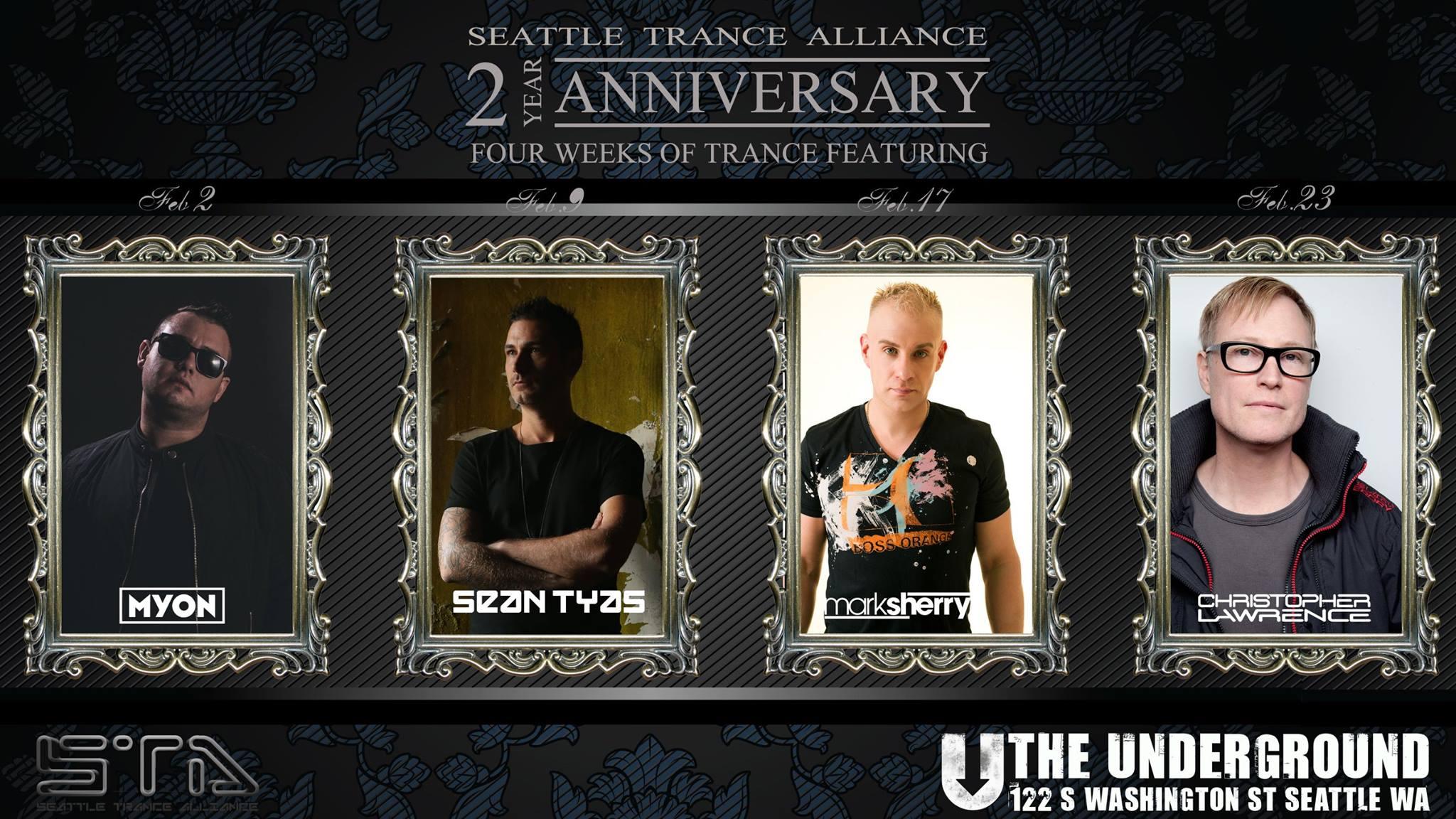 STA 2 year Anniversary banner - the underground