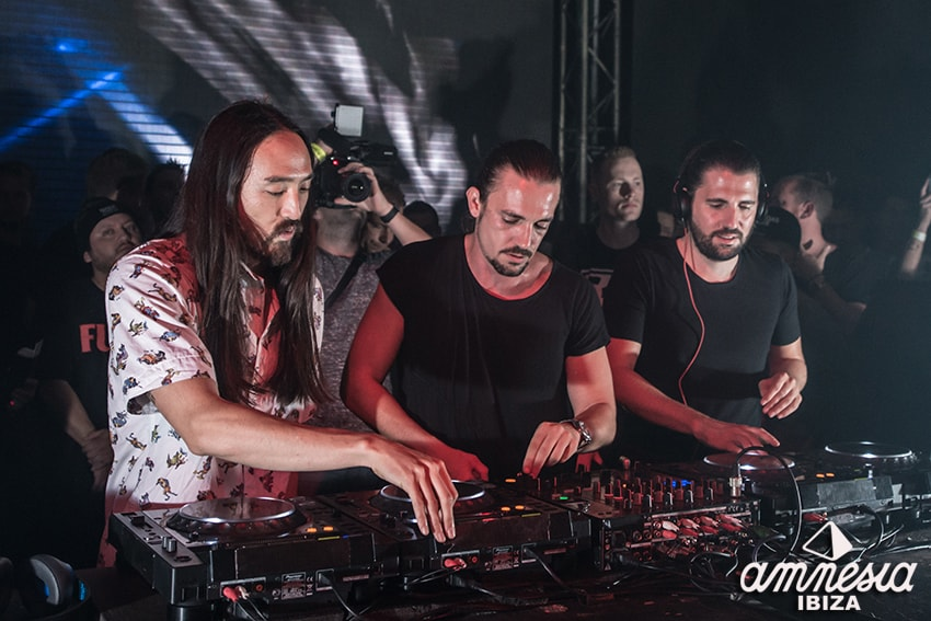 3 Are Legend steve aoki dimitri vegas like mike