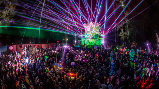 Shambhala Music Festival - The Pagoda
