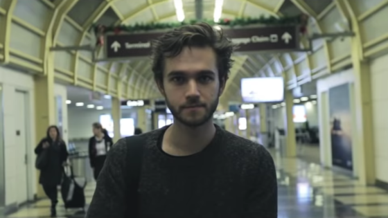 "Screen shot from Zedd's ""Zedd - 10 Year Recap"""